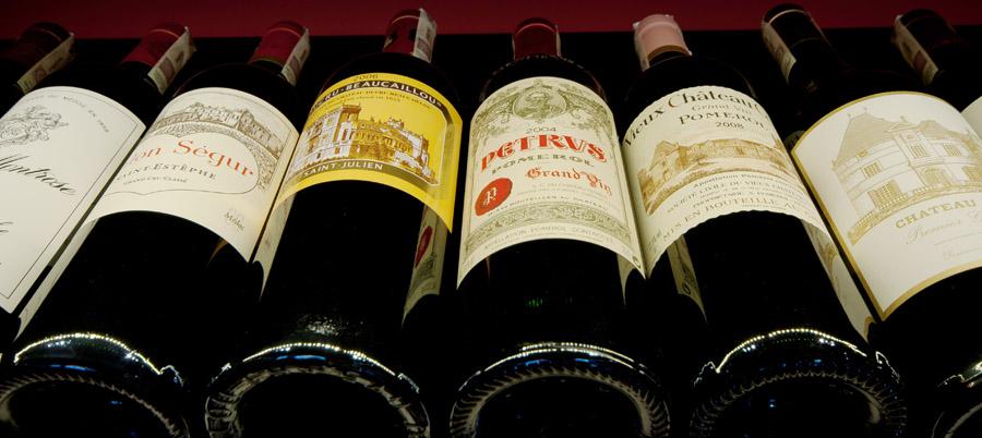 wina francuskie / wina kolekcjonerskie