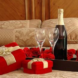 Wino na prezent świąteczny