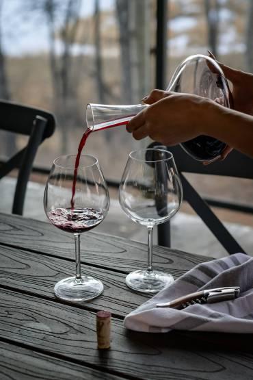 Osad w winie